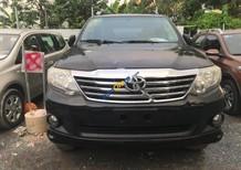 Cần bán lại xe Toyota Fortuner V năm 2012, màu đen, giá tốt
