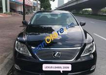 Cần bán lại xe Lexus LS460L 4.6AT đời 2009, nội ngoại thất nguyên bản, màu đen, nội thất kem