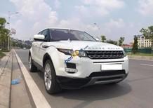 Bán xe LandRover Range Rover Evoque đời 2012, màu trắng, các chức năng theo xe đầy đủ và ổn định