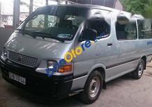 Bán Toyota Hiace đời 2001, màu bạc