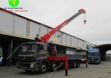 Bán xe Thaco Auman C300B gắn cẩu, 10 tấn, tự hành Kanglim KS2605