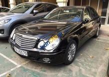 Bán Mercedes E280 sản xuất 2007, màu đen chính chủ, giá 639tr