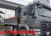 Xe Ben Shacman 4 chân thùng 15 khối tải trọng 17 tấn