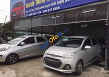 Bán Hyundai Grand i10 đời 2016, màu bạc, xe tư nhân chính chủ, biển Sài Gòn