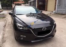Bán Mazda 3 1.5AT 2016, màu đen, xe đẹp