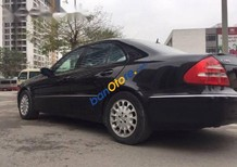 Bán Mercedes E240 2.5 AT đời 2005, khung gầm vừa bảo dưỡng, máy móc nguyên zin tuyệt đối