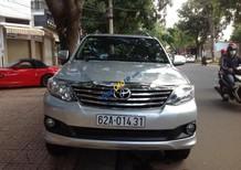 Cần bán gấp Toyota Fortuner 2.7V năm 2013, màu bạc, giá 795tr