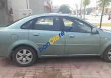 Bán ô tô Daewoo Lacetti đời 2005, màu xanh, xe đẹp, nội ngoại thất sạch sẽ
