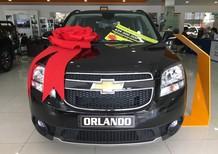 Bán Chevrolet Orlando LT đời 2017, màu đen, 639 triệu