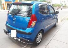 Bán Hyundai i10 1.0AT sản xuất năm 2009, màu xanh lam số tự động giá cạnh tranh