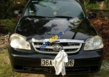 Bán Daewoo Lacetti EX 1.6 MT đời 2004, màu đen, giá rẻ