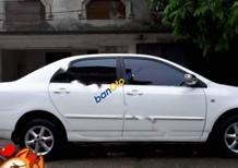 Cần bán gấp Toyota Corolla J 1.3 MT sản xuất 2002, màu trắng