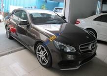 Cần bán xe Mercedes E250 AMG đời 2014, ĐK 2015, màu nâu