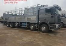 Bán xe tải thùng Shacman 5 chân 2017 thùng inox 9m5 tải trọng 22,2 tấn