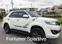 Bán Toyota Fortuner TRD Sportivo đời 2015, màu trắng số tự động