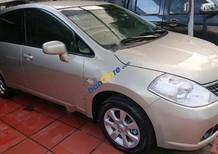 Bán ô tô Nissan Tiida AT sản xuất năm 2007, màu vàng, nhập khẩu nguyên chiếc chính chủ