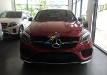 Bán ô tô Mercedes GLE 450 AMG sản xuất 2017, màu đỏ, nhập khẩu, mới 100%
