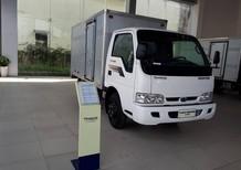 Bán xe KIA 2.3 tấn - Thùng Kín - Màu trắng -  2017- K165s (K3000S) . Hỗ trợ vay 70% vốn và giá xe tốt nhất