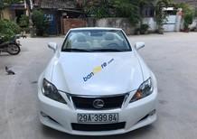 Bán Lexus IS 250C năm sản xuất 2009, màu trắng, nhập khẩu