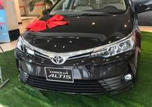 Bán Toyota Corolla altis 1.8 CVT đời 2017, màu đen