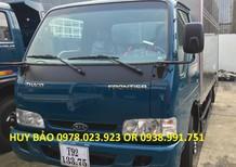 Xe Kia tải 2,4 tấn Thaco thùng mui bạt màu xanh dương, giao xe ngay