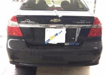 Cần bán gấp Chevrolet Aveo AT sản xuất 2014, màu đen, giá tốt