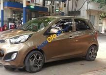 Bán ô tô Kia Morning AT năm 2011, màu vàng cát