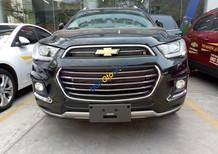 Cần bán Chevrolet Captiva Revv LTZ 2.4 AT năm 2017, màu đen, 879 triệu