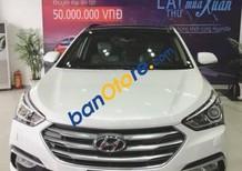 Bán ô tô Hyundai Santa Fe sản xuất 2017, màu trắng giá tốt