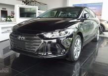 Hyundai Elantra 2018 CKD xe mới, màu đen, giá cực tốt
