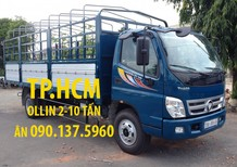 TP. HCM Thaco Ollin 700C phiên bản mới thùng kín inox304, màu xanh lam, giá chỉ 477 triệu