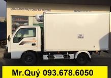 Xe tải Kia đông Lạnh 1,49 tấn Trường Hải phân phối mới 2017