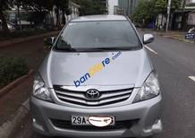 Bán xe cũ Toyota Innova 2.0G năm 2011, màu bạc