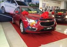 Cruze LT 2018 giá rẻ giảm giá đặc biệt, hỗ trợ trả góp 90%, trả trước 90tr lấy xe về Mr Quyền 0961.848.222