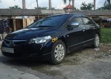 Bán xe cũ Honda Civic 1.8 MT đời 2008, màu đen