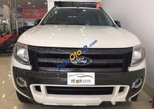 Cần bán lại xe Ford Ranger Wildtrak 3.2AT sản xuất 2015, màu trắng