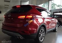 Bán xe Hyundai Santa Fe 2016 màu đỏ, full đồ