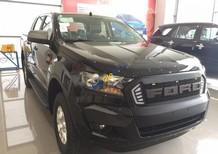 Cần bán Ford Ranger XLS 2.2L 4x2 MT sản xuất 2017, màu đen, nhập khẩu
