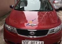 Cần bán lại xe Kia Cerato sản xuất năm 2009, màu đỏ, nhập khẩu, 390tr