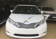 Cần bán Toyota Sienna Limited 3.5 sản xuất 2015, màu trắng, nhập khẩu