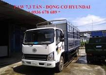 Cần bán xe FAW 7,3 tấn động cơ Hyundai thùng dài 6,25M