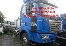 Bán xe tải Faw nhập khẩu 7.8 tấn/7t8/8 tân/8 tấn thùng dài 9.8 mét