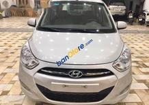 Bán Hyundai i10 năm sản xuất 2011, màu bạc,