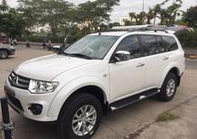 Cần bán xe Mitsubishi Pajero Sport DMT 2017, màu trắng có bán trả góp 0906.884.030