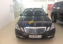 Cần bán lại xe Mercedes E250 năm sản xuất 2012, màu đen