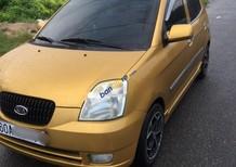 Cần bán Kia Picanto đời 2004, màu vàng, xe đẹp