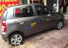 Bán ô tô Kia Morning 2011, màu xám, không đâm đụng keo chỉ còn zin, nội thất đẹp mới như hình