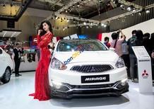 Cần bán xe Mitsubishi Mirage MT ECO đời 2018, màu trắng, nhập khẩu