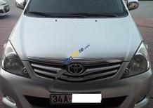 Bán Toyota Innova G đời 2010, màu bạc xe gia đình
