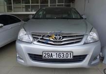 Cần bán lại xe Toyota Innova G đời 2011, màu bạc, 490 triệu
